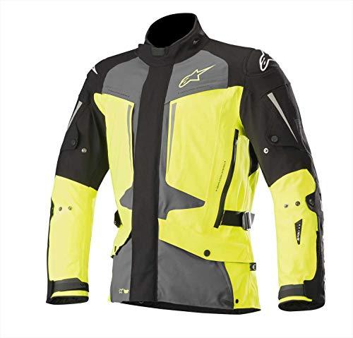 Alpinestars Tech-Air Airbag Compatible Yagura Drystar Jacket Black/Dark Gray/Yellow (Yellow, -