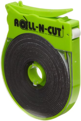 (Roll-N-Cut Dispenser With One Flexible Magnet Tape Role, 1/16