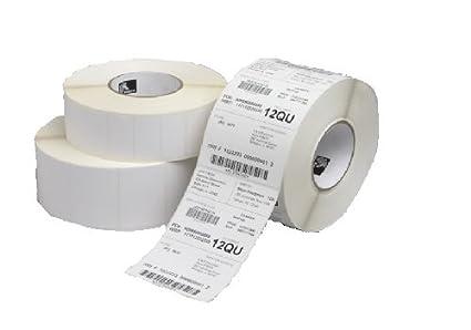Zebra Z-Select 2000T - Etiquetas de impresora, color blanco ...