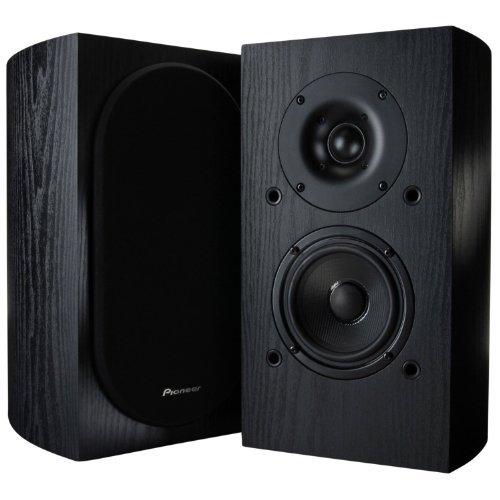 Pioneer SP-BS22-LR Andrew Jones Designed Bookshelf Loudspeakers(7-1/8'' x 12-9/16'' x 8-7/16'' & weighs 9 lbs 2 oz) by PIONEER
