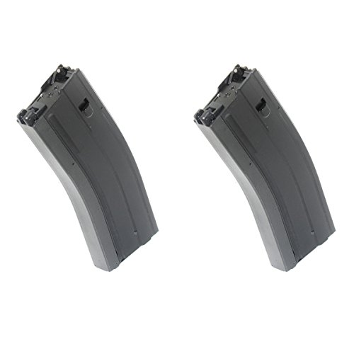 Airsoft Shooting Gear 2pcs 50rd Mag Gas Magazine For JG WA G&P M4A1 Series GBB Rifle by Airsoft Shopping Mall