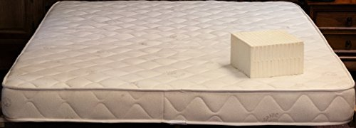 """Cotton Cloud Natural Beds and Furniture Lily 6"""" Natural Latex California King Size Mattress"""
