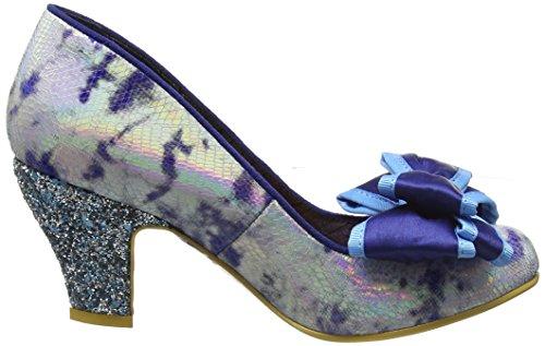 Escarpins Bleu Femme Ban Bout Ad Choice Ferm Irregular blue Joe Multi nCtR0