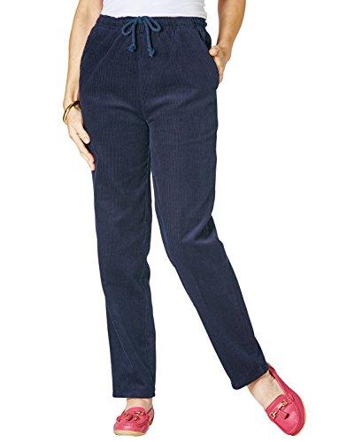 En Côtelé Pantalon Velours Chums Femme Bleu H76U6q4
