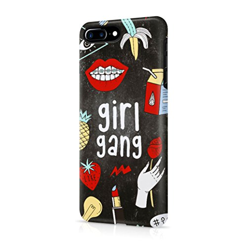 Price comparison product image Girl Gang Girly Stuff Pattern Tumblr Durable Hard Plastic Protective Phone Case Cover For Apple iPhone 7 Plus