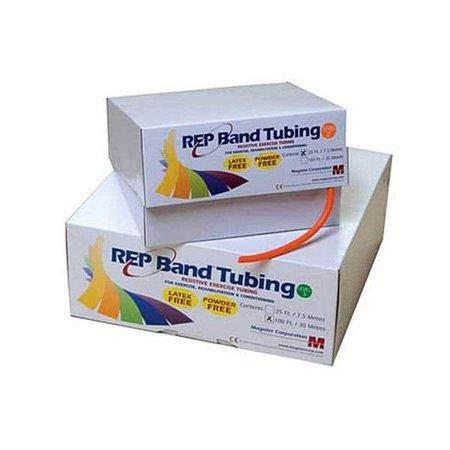 (FAB105679 - Fabrication Enterprises, Inc. REP latex-free exercise tubing, plum (5), 100 feet)