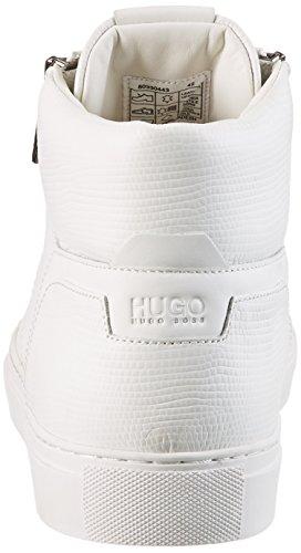HUGO Futurism_hito_exo 10197259 01, Scarpe Uomo, Bianco (White), EU