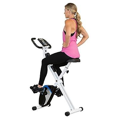 ProGear 225 Foldable Magnetic Upright Bike Heart Pulse by Paradigm Health & Wellness Inc.  -- DROPSHIP