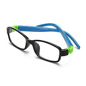 Fantia Children Flat Light Eyeglass Kids Optical Glasses for Boys and Girls (2#)