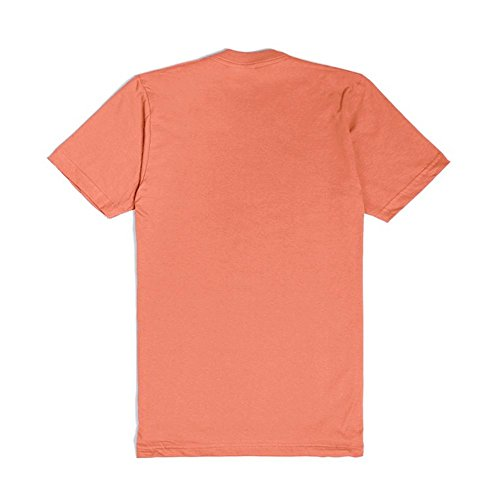 Only Dead Fish Go With The Flow | 2XL Coral T-Shirt
