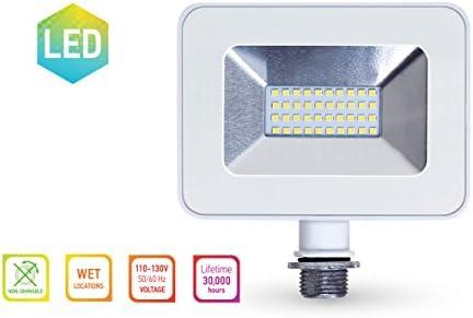 5000k Super Slim Outdoor LED F... LLT 20W LED Flood Light with Knuckle 1600lm