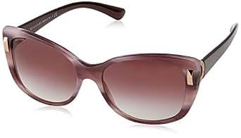 Amazon.com: Bvlgari Women's BV8170 Sunglasses Pink Havana