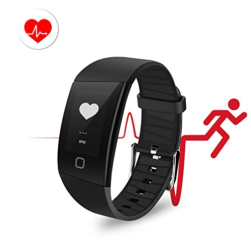 Fitness Tracker Watch, Uten Activity Tracker with Heart Rate Monitor Blood Pressure Monitor, IP68 Waterproof Smart Fitness with Step Counter, Calorie Counter, Pedometer Watch for Kids Women and Men by Mbuynow