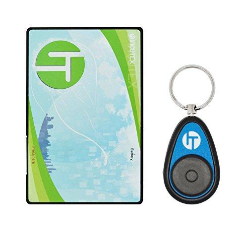 Incutex Schlüsselfinder Keyfinder im Kreditkartenformat, blau
