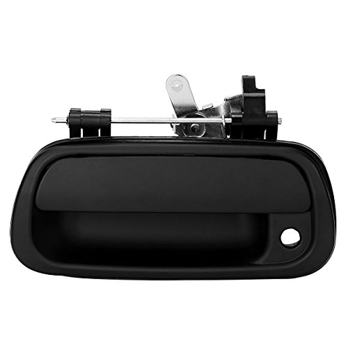For Toyota Tundra Tailgate Handle, YITAMOTOR Tailgate Rear Exterior Smooth Black Door Handle with Keyhole for 2000-2006 Toyota Tundra Pickup (690900C010)