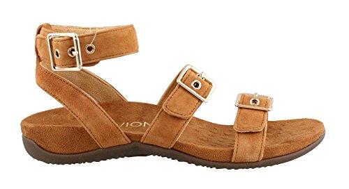VIONIC Womens Rest Sahara Backstrap Sandal Caramel