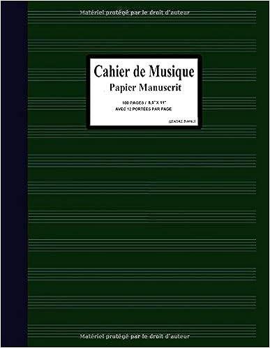 Cahier Musique: (9)