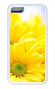 iPhone 5c case, Cute Sunflower 10 iPhone 5c Cover, iPhone 5c Cases, Soft Whtie iPhone 5c Covers