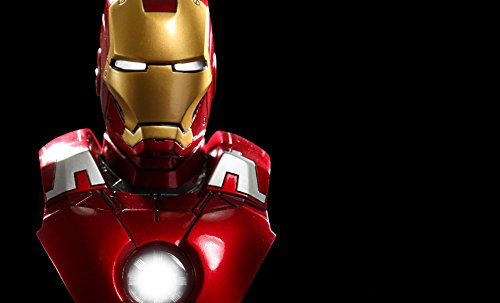 Iron Man Mark VII 1/6 Scale Collectible Bust Sideshow by Hot (Collectible Bust)