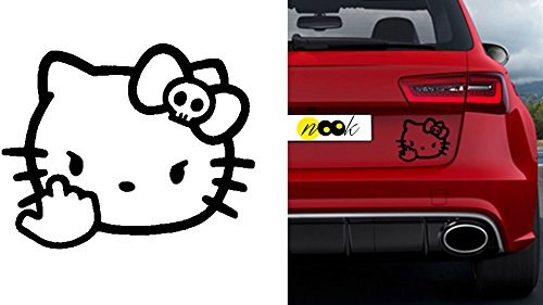 Autosticker MacBook pro Air Sticker Aufkleber Hello Kitty