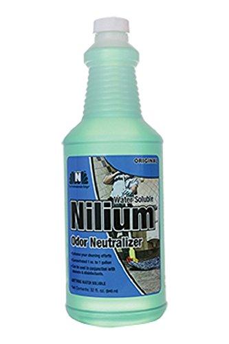 Nilodor 32 WSO Nilium Odor Neutralizer, original, 1 quart, 32 fl oz., 10'' Height, 3.25'' Width