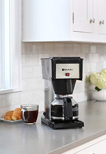 BUNN BX-D Velocity Brew 10-Cup Coffee Brewer, High Altitude