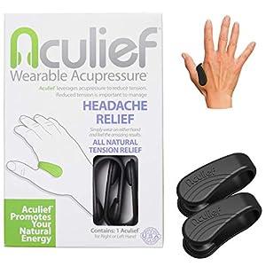 Aculief – Maux de tête naturels primés, migraine, soulagement de la tension portable – Soutient la relaxation de l…