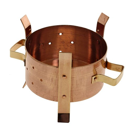 Food Warmer Burner ~ Shalinindia mn copper burner indian tableware centerpiece