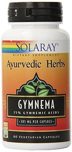 Solaray Gymnema Extract Capsules, 385mg, 60 Count