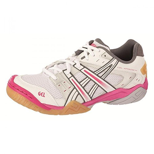 De Fitness Chaussures pink Pour Whit Asics whit Femme HOUwFxq