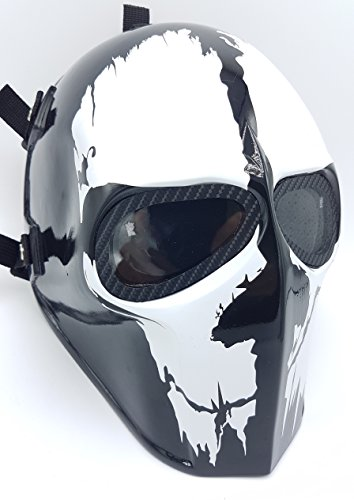 [Invader King ® Airsoft Mask & Paintball Mask Protective Gear Outdoor Sport Fancy Party Ghost Masks Bb] (Movie Character Costume Ideas Homemade)