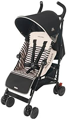 Maclaren - Silla de paseo Quest Black Stripe: Amazon.es: Bebé
