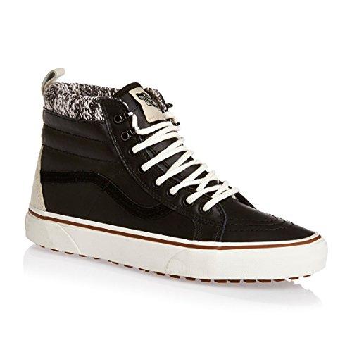 Vans Sk8 Salut-mth, Unisexe Adulte Haut Chaussures De Sport Noir