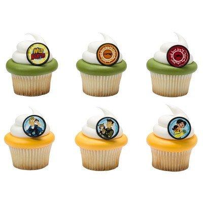 Wild Kratts Crew Cupcake Rings product image