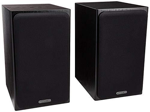 (Monitor Audio - Silver Series 1 - 2-way Compact Loudspeakers - Pair - Black Oak )