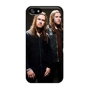 Iphone 5/5s ZYQ8967bGtr Allow Personal Design Colorful Korpiklaani Band Pattern Bumper Hard Phone Covers -JamieBratt