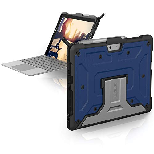 UAG Microsoft Surface Go Feather-Light Rugged [Cobalt] Aluminum Stand Military Drop Tested Case