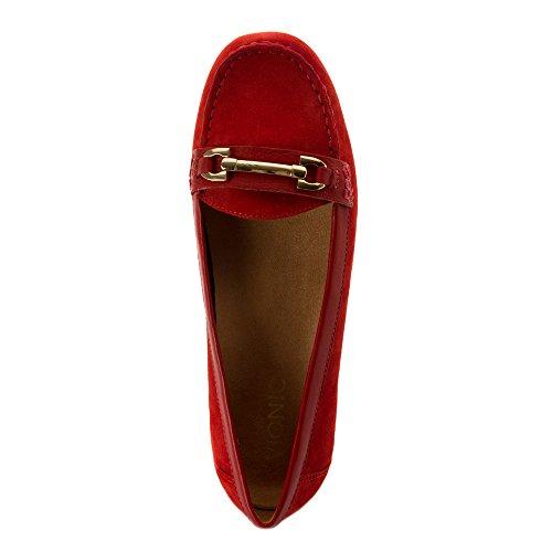 Kenia-Loafer der vionischen Frauen Backstein