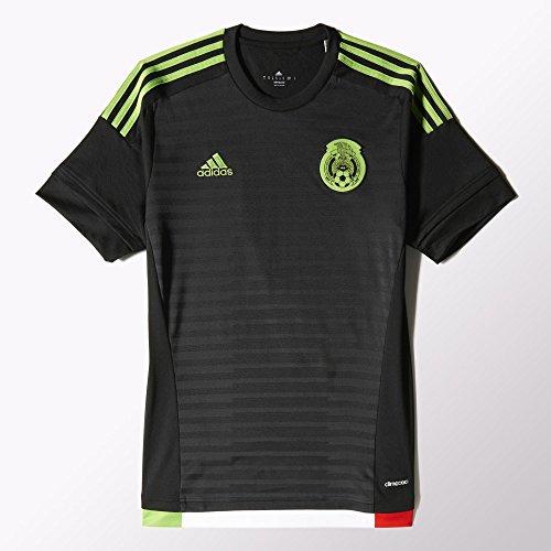 Adidas Mens 2015 Mexico Home Jersey (Mexico Home Jersey)