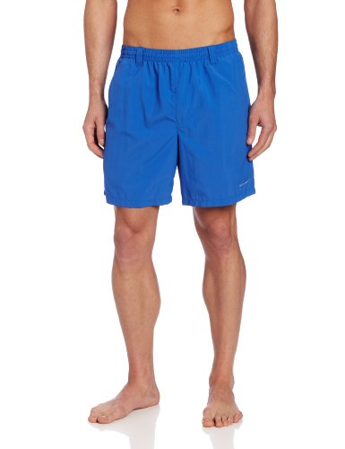 Columbia Sportswear Men's Backcast II Water Trunk (Vivid Blue, Large), Outdoor Stuffs
