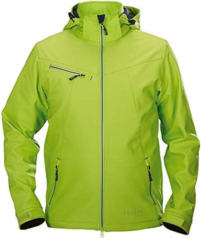 Fifty Five kurtka softshell męska kurtka zimowa Saint Louis zielona 2XL wiatroszczelna wodoodporna oddychająca kurtka przejściowa: Odzież