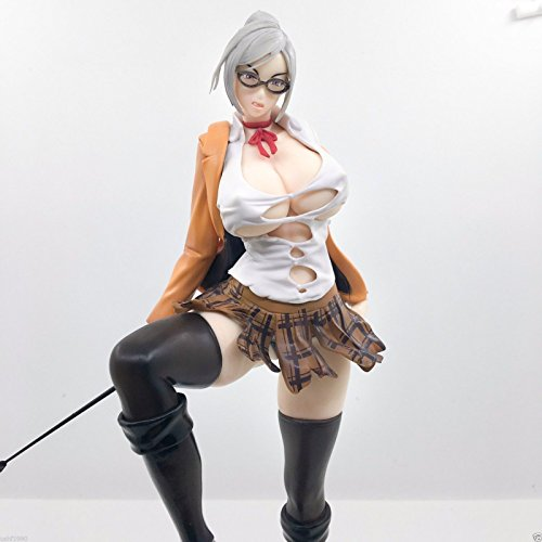 Shalleen JP ANIME No.9 PRISON SCHOOL SHIRAKI MEIKO STAND VER SEXY PVC FIGURE FIGURINE (Anime Happy Halloween Vocaloid)