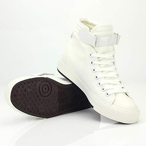 Ocasionales Ayuda Pareja Lona Transpirables White03 Popular Zapatos Alta De Acdc Lazada RnP1qII
