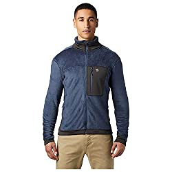 Mountain Hardwear Monkey Man/2 Jacket Men's Classic Lightweight Fleece Jacket for Hiking, Skiing, Backpacking, Climbing, and Everyday