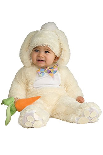 [Rubie's Costume Baby Bunting Vanilla Bunny Costume, Vanilla, 6-12 Months] (Bunny Costume For 12 Year Old)