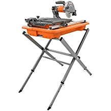 "Ridgid R4030s 7"" Tile Saw with Foldable Stand"