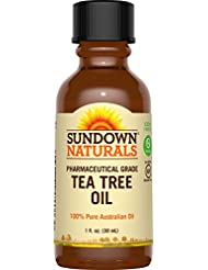 Sundown Naturals Tea Tree Oil Liquid, 1 Ounce