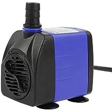 AQUANEAT 265 GPH Submersible Water Pump Adjustable Powerhead Aquarium Fish Tank Fountain Hydroponic