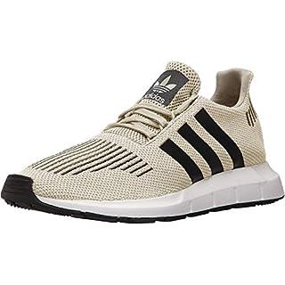 adidas Originals Men's Swift Running Shoe, Sesame/Black/White, 10 Medium US