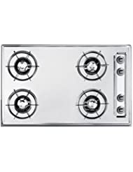 Summit ZNL053 Gas Cooktops, White